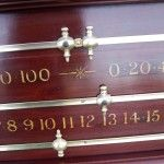 Two Snooker Scoreboards. Latest arrivals.Browns Antiques. | Browns Antiques Billiards and Interiors. Antique snooker and billiards tables. Antique Furniture.
