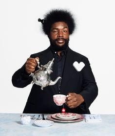 Mickey Rapkin (Roots drummer, Jimmy Fallon foil, and owner of Hybrid restaurant) dishes on how to give the best dinner party ever in Hollywood. #tea