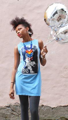 eco mini bodycon dress blue jaguar by WhatsOliviaWearing on Etsy, $35.00