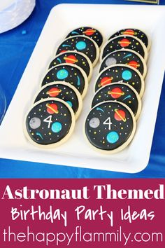Astronaut themed birthday party. Astronaut themed birthday party games. Astronaut themed birthday party food. Outer space birthday party ideas. Outer space birthday party games. Outer space birthday cake ideas. Outer space birthday party food ideas. The best astronaut themed birthday party ideas. Astronaut birthday decor. Outer space party decor. #astronaut #birthday #party #food #games #outerspace #decor Outer Space Party, Birthday Party Games, Astronaut, Birthday Decorations, Anniversary Party Games, Party Outdoor