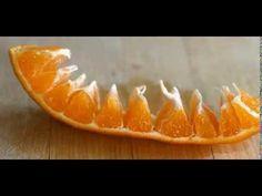 Técnica para pelar naranjas en pocos segundos