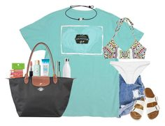 """""""4 days until spring break ☀️☀️"""" by lilypackard ❤ liked on Polyvore featuring Mara Hoffman, Rip Curl, Birkenstock, S'well, Vera Bradley, Benefit, MAC Cosmetics and Longchamp"""