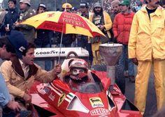 "Andreas Nikolaus ""Niki"" Lauda (AUT) (Scuderia Ferrari SpA SEFAC), Ferrari 312T2 - Ferrari Tipo 015 3.0 Flat-12 (finished 4th) 1977 United States Grand Prix, Watkins Glen © Scuderia Ferrari SpA"