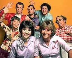 Laverne and Shirley- 5,6,7,8 Lamil, Lafonzo, Alfafa, Capa, Corporated...I had no idea what they were saying!