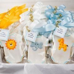 baby shower cookies by blanca