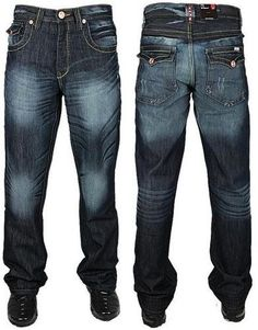 Bnwt Mens Enzo Cuffed Jeans Joggers Trouser Pants In 3 Fashion Colours 28 To 48
