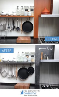 Before and after pictures of what your kitchen could look like with Cover Styl' self-adhesive vinyl films! With Cover Styl', your renovation projects have never been easier. Get inspired by subscribing our Pinterest account. More info on coverstyl.com Facebook: https://www.facebook.com/cover.styl LinkedIn: https://www.linkedin.com/company-beta/10144504 Instagram: https://www.instagram.com/solarscreen_international/ YouTube: https://www.youtube.com/channel/UCkVNfISU6Qj1-118123DMvA