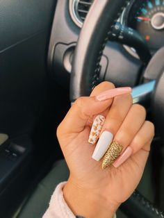 you should stay updated with latest nail art designs, nail colors, acrylic nails, coffin nail Gel Acrylic Nails, Acrylic Nail Designs, Nail Art Designs, Gel Nail, Nails Design, Nail Polish, Gorgeous Nails, Love Nails, Fun Nails