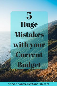 Looking to get your finances in shape? Start with your budget first. Avoid this 5 huge mistakes.