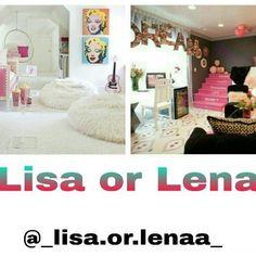 Lisa or Lena? Subject: Room My Choice: Lisa