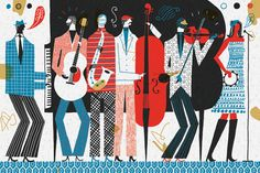 The Band - Illustration on Behance