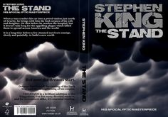 """Stephen King """"The Stand"""" book cover design https://www.facebook.com/pages/Honeypot-Designs/1395985680670486 #StephenKing"""