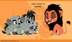 Ed is bored XD Anyway, more The Lion King fanarts, deal with it (Just in my new style). TLK: Just listen to teacher Scar Lion King, Lion King Fan Art, Cute Disney Wallpaper, Cute Cartoon Wallpapers, Disney Drawings, Cute Drawings, Lion King Images, Lion King Poster, Lion King Quotes