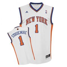adidas Knicks Stoudemire Revolution 30 Replica Home Jersey New York Style 0653bce5c