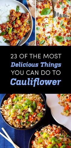 Full list: 23 Smart Cauliflower Recipes If You're Trying To Eat Less Meat