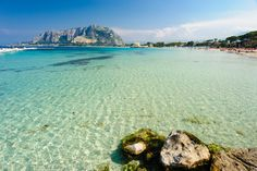 The crystal waters of Mondello, near the center of Palermo in Sicily #palermo #sicily