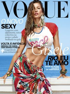 Gisele Bundchen by Nino Muñoz Vogue Brasil November 2016