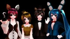 MMD] Five Nights at Meiko's - I am still here by AkuMaRin-Mia on ...