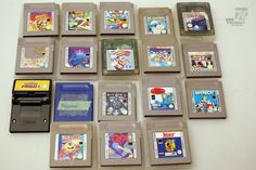 cyan74.com - vintage & pop culture   Nintendo Gameboy Classic