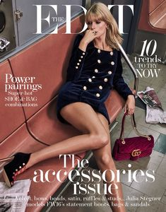 Julia Stegner on The Edit Magazine October 2016 Cover
