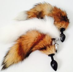 5c2c94e8252 Petplay last one left MOCA Luxury Fox faux tail BUTT plug 50 shades bdsm  pleasure adult mature crafted item anal Lolita- easter