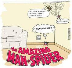 Le fantastiche avventure del ragno uomo!