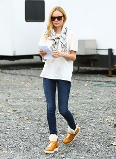 Kate Bosworth's cute, easy fall outfit
