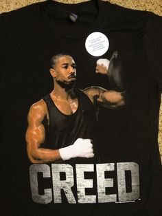 Creed Rocky Movie Creed Training Punching Speed Bag T-Shirt #Rocky #GraphicTee