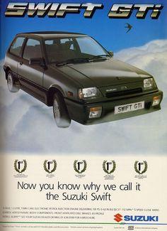 1988 Suzuki Swift GTi