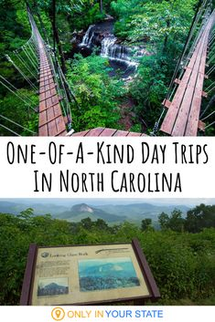 you're looking for unique adventures in North Carolina, you can find them here. From treetop zipline courses to hidden swimming holes, there's something you'll love. Vacation Places, Vacation Destinations, Vacation Trips, Vacation Spots, Places To Travel, Vacation Packages, Travel Route, Dream Vacations, Vacation Ideas