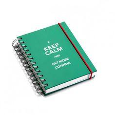 Bloco Keep Calm Coxinha G Verde