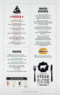 @Michael Morgan - This site does beautiful menu design. Art of the Menu: Cozmo Café