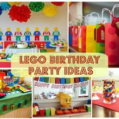 Lego Birthday Party Ideas | Smart Party Planning