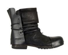 Cinzia Araia / Calfskin Ankle Strap Boots' for Men
