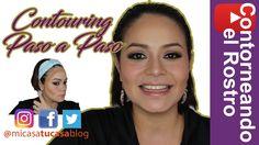 Como Contornear el Rostro - Contouring Paso a Paso técnica de maquillaje