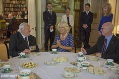 "PA Images on Twitter: ""Duchess of Cornwall attends Royal reception for the Battle of Britain Fighter Association"