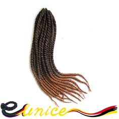 ombre and pure color best quality senegal braifing crochet hairstyle shade 22 inches hair extension