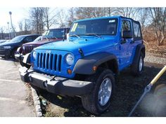 Cosmo blue Used 2011 Jeep Wrangler Sport for sale in Little Falls, NJ. - Kelley Blue Book