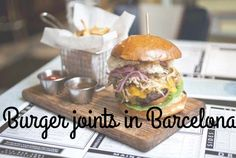 Burgers   Barcelona. Everyone knows that a burger and beer is the ultimate dynamic duo. Find out the best hidden away burger joints in Barcelona... ;)