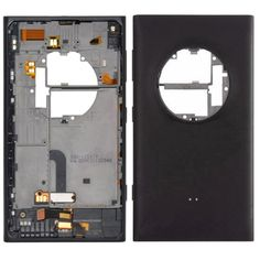 iPartsBuy Battery Back Cover Replacement for Nokia Lumia 1020(Black)