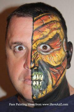 Halloween Face Painting Video Tutorial
