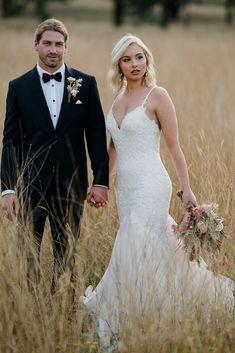 Just Stunning! Suit - @rundletailoring Dress -@jeanfoxbridal Florals - @wornoutwares_wowflowers_ Photographer - @mattsphotography Adam's Peak, Lace Wedding, Wedding Dresses, Florals, Suit, Weddings, Couples, Fashion, Bride Dresses