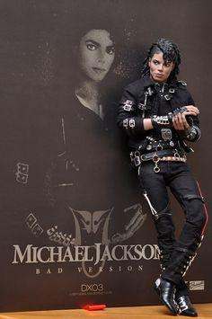"Michael Jackson ""Bad"" Doll by Triumph International"