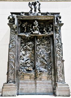 Auguste Rodin - The Gates of Hell at Musée Rodin Paris France | by mbell1975