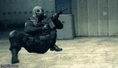 Tactical Crabwalk