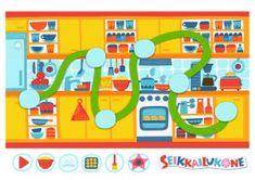 Pikku Kakkonen: Seikkailukone-kartta Creative Kids, Kids Rugs, Games, Free, Creativity, Home Decor, Decoration Home, Kid Friendly Rugs, Room Decor