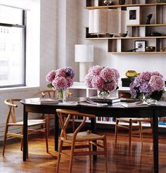 Against the Grain: Mix & Match Wood Dining Furniture | Apartment Therapy