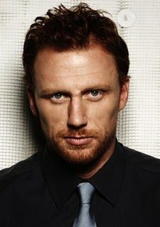 Kevin McKidd ... LOVE him as Dr. Owen Hunt on Grey's.  By far my favorite cast member.  Then again, everyone knows how I love me a gawky ginger...