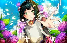 Anime art # Haku # spirited away # movie