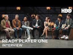 Ready Player One Interview w/ Steven Spielberg, Tye Sheridan & Cast Ready Player One, Steven Spielberg, Interview, It Cast, People, Movie Posters, Film Poster, People Illustration, Billboard